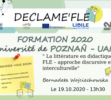 Session formation poznan Declame'FLe
